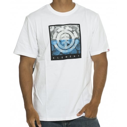 Camiseta Element: Log Jam SS Optic WH