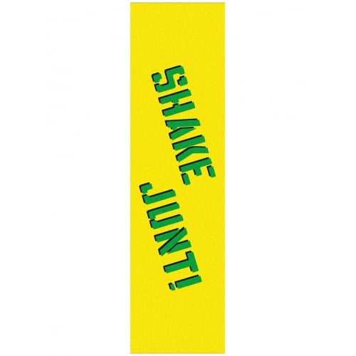 Lija Shake Junt: Grip Tape Sheet Yellow