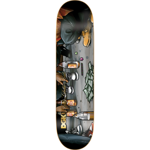 Tabla DGK: Hustle 8.1