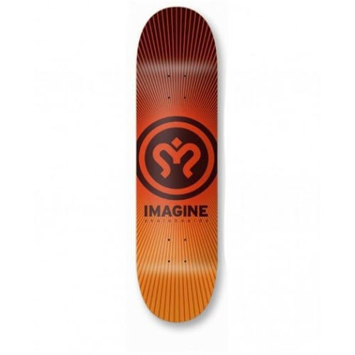 Tabla Imagine Skateboards: Sunrise 8.6