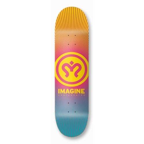 Tabla Imagine Skateboards: Sunrise 8.2