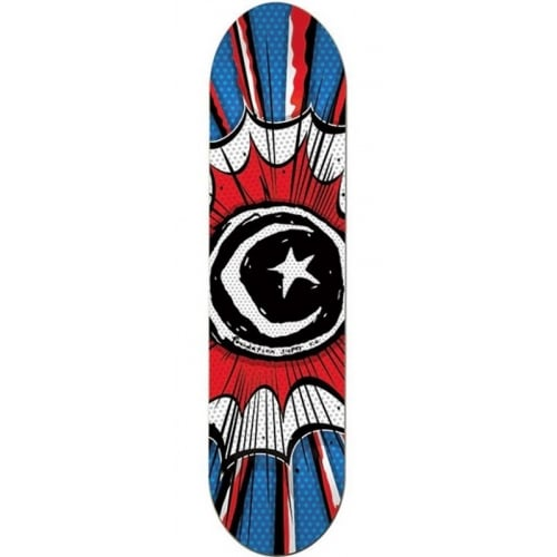 Tabla Foundation Skateboards: Star And Moon Comic 8