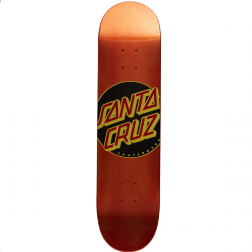 Tabla Santa Cruz Skateboards: Classic Dot 7.8