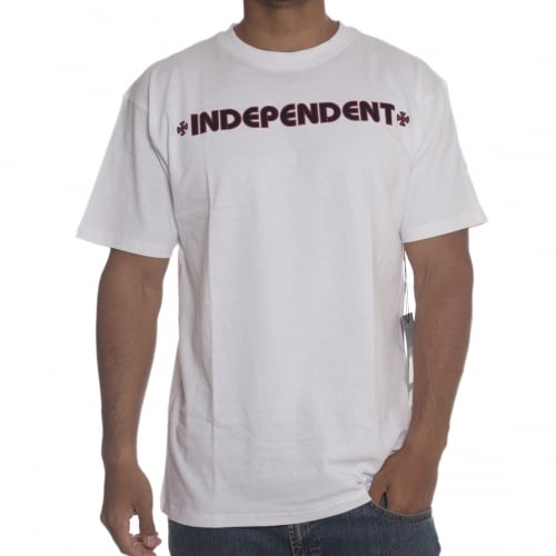 Camiseta Independent: Bar Cross WH