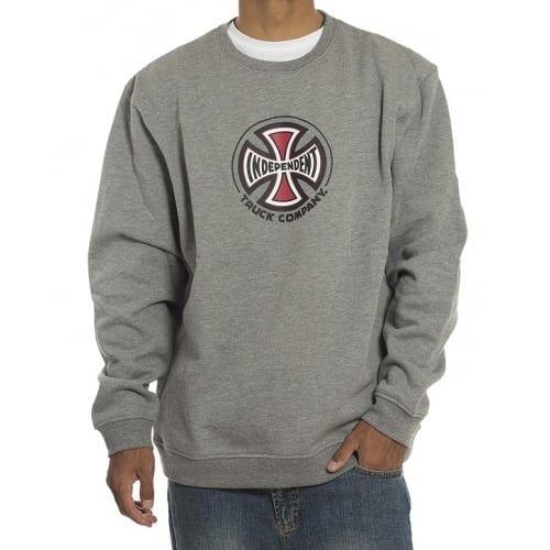Sudadera Independent: Crew truck Co GR
