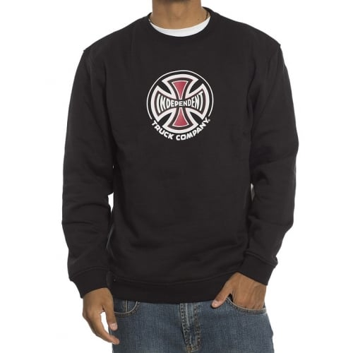 Sudadera Independent: Crew truck Co BK