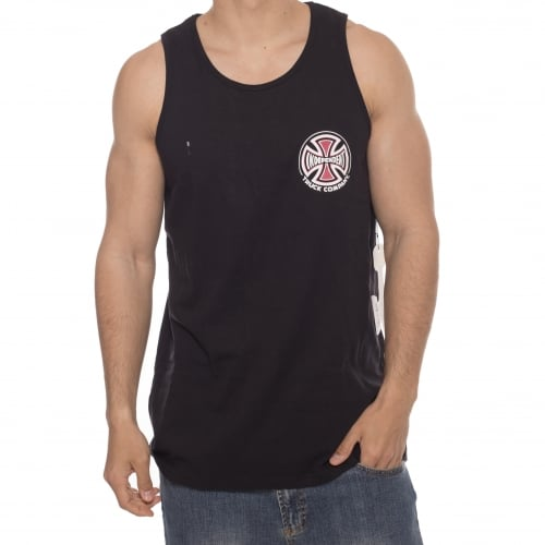 Camiseta sin mangas Independent: Vest Truck Co Chest BK