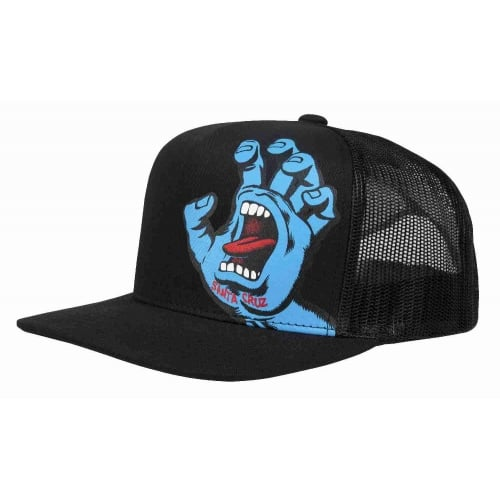 Gorra Santa Cruz: Screaming Hand Mesh BK