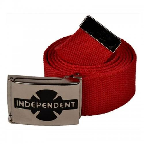 Cinturon Independent: Clipped Cardinal Red RD