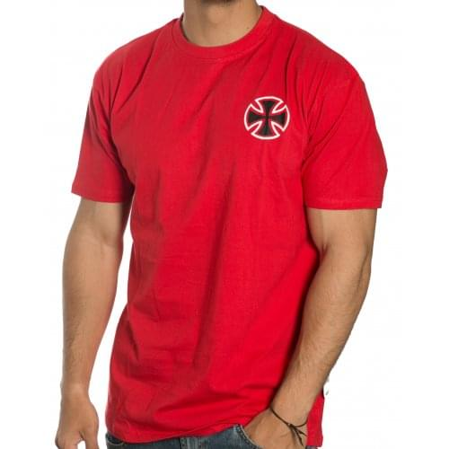 Camiseta Independent: Tee BTG Cross RD