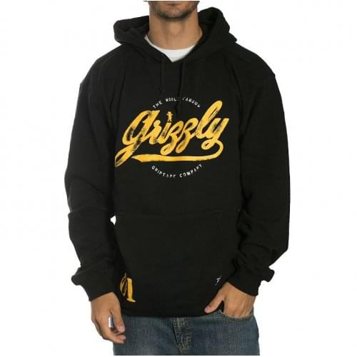 Sudadera Grizzly: Western Division Hoodie BK