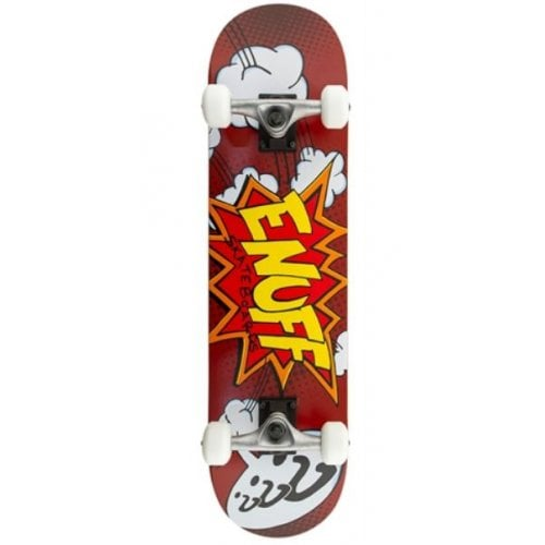 Skate Completo Enuff: Pow Red 7.75
