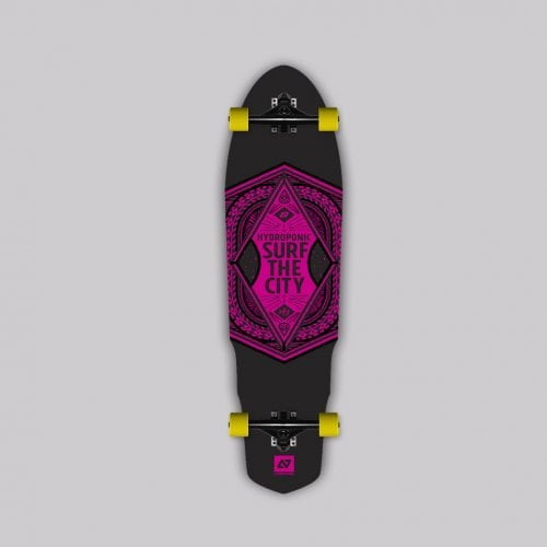 Longboard Completo Hydroponic: SURF THE CITY 2.0 35X9.6 RD