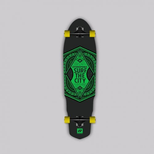Longboard Completo Hydroponic: SURF THE CITY 2.0 35x9.6 GN