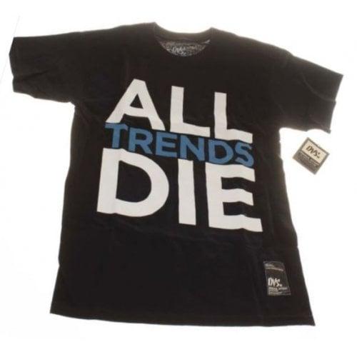 Camiseta DVS: All Trends Die BK