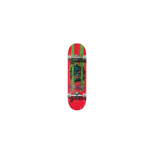 Skate Completo Hydroponic: Critter Red 7.8