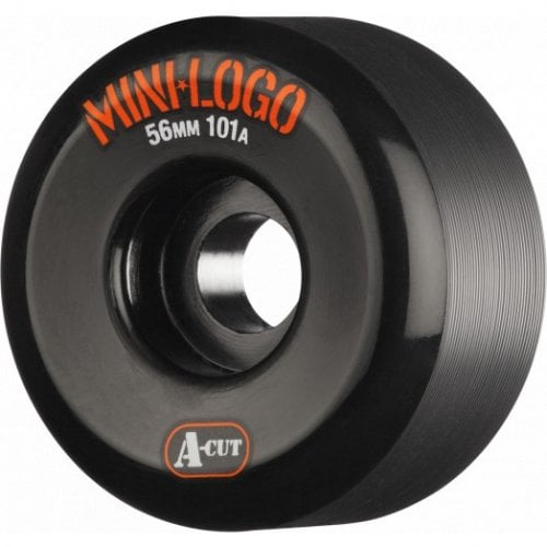 Ruedas Mini-Logo Skateboards: A-Cut Black (56 mm / 101A)