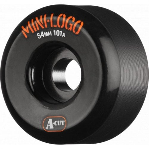 Ruedas Mini-Logo Skateboards: A-Cut Black (54 mm / 101A)