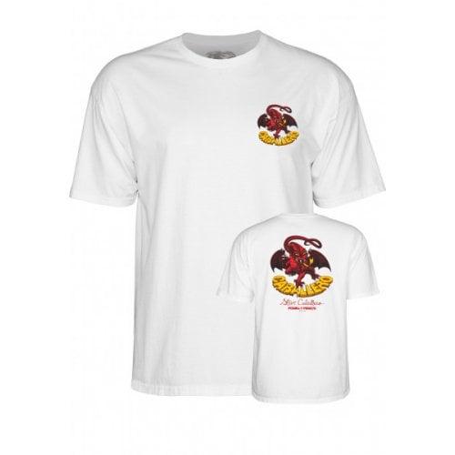 Camiseta Powell: Caballero Classic Dragon WH