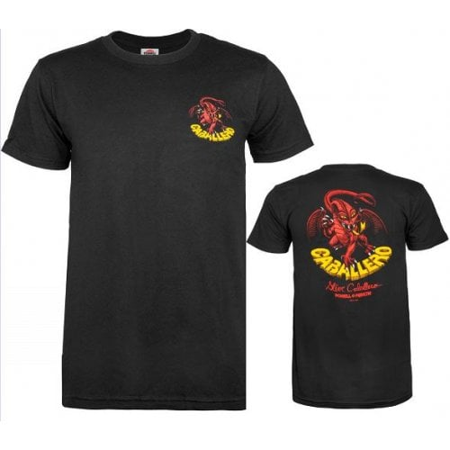 Camiseta Powell: Caballero Classic Dragon BK