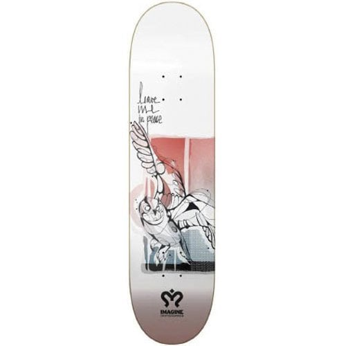 Tabla Imagine Skateboards: Owl 8.5