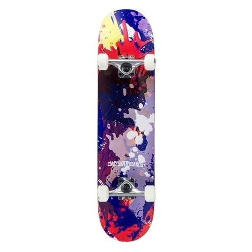 Skate Completo Enuff: Splat Red/Blue 7.75