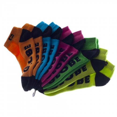 Calcetines Globe: Boys Neon Ankle Sock MC