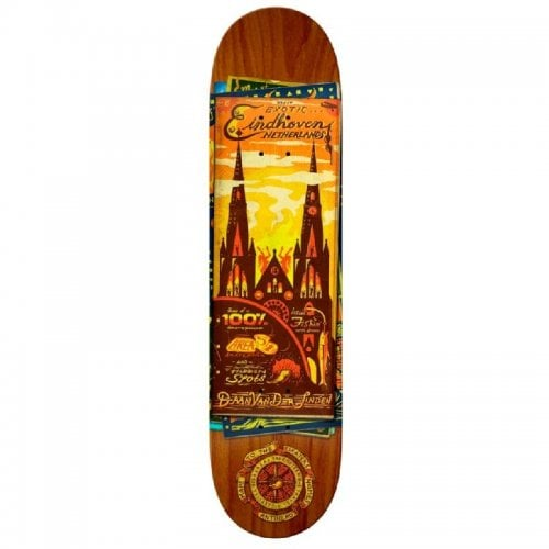 Tabla Antihero:  Daan Maps to the Skaters Homes Skateboard Deck 8.12