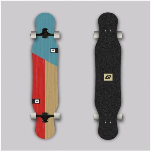 Longboard Completo Hydroponic: Pixie Cut Ply Bolzen 43,5 x 9,05