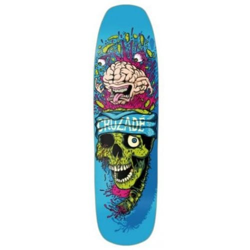 Tabla Cruzade Skateboards: Brain 8.75