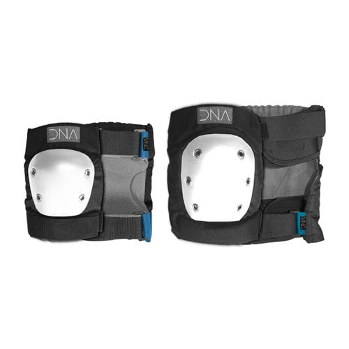 Set Protecciones DNA: Classic Knee & Elbow Pack BK/WH