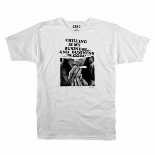 Camiseta Zero: Quality Time Tee WH