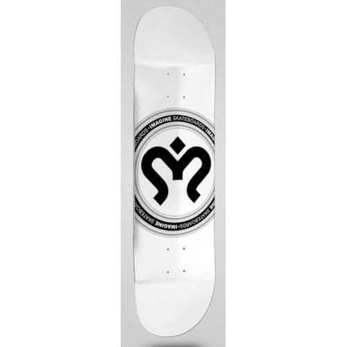 Tabla Imagine Skateboards: Medallion Silver 8.0