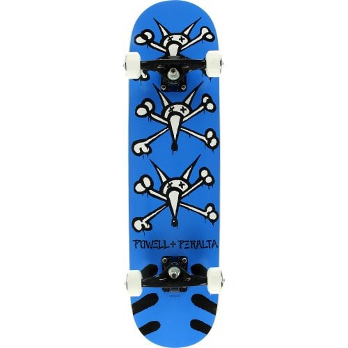 Skate Completo Powell Peralta: Vato Rats Blue 8.0