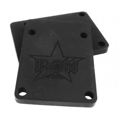 Alzas Iron: Riser Pads Black 6mm