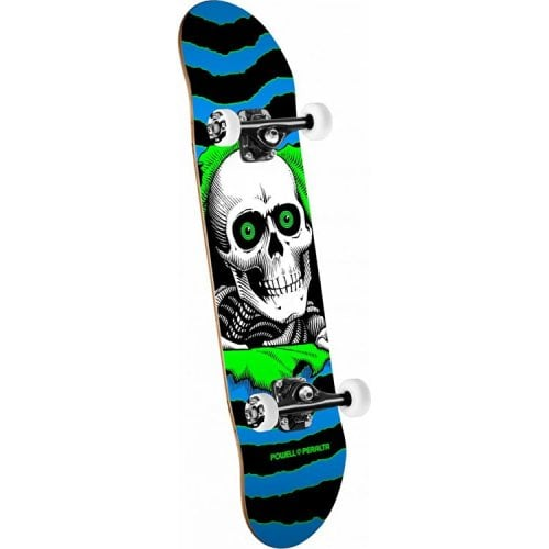 Skate Completo Powell Peralta: Ripper One Off Blue Green 7.75