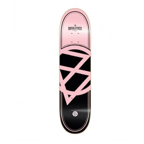 Tabla BDSkateCO: OG Logo Light Pink Black 8.25