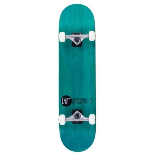 Skate Completo Enuff: Logo Stain Teal 7.75