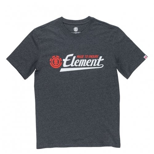 Camiseta Element: Signature SS Charcoal Heather GR