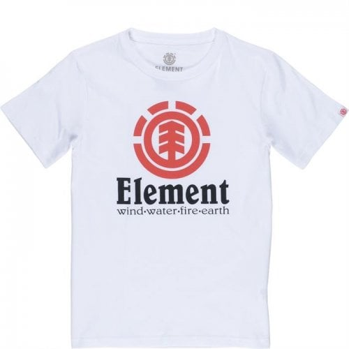 Camiseta Element: Vertical SS Optic White WH