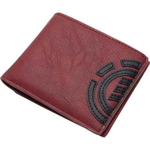 Cartera Element: Daily Wallet - Oxblood Red RD