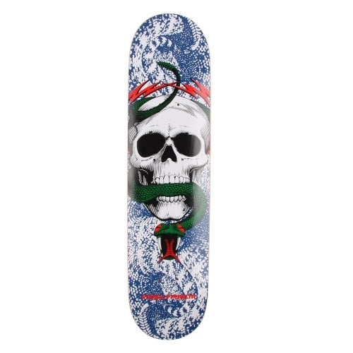 Tabla Powell: Skull & Snake Blue-Red 7.625
