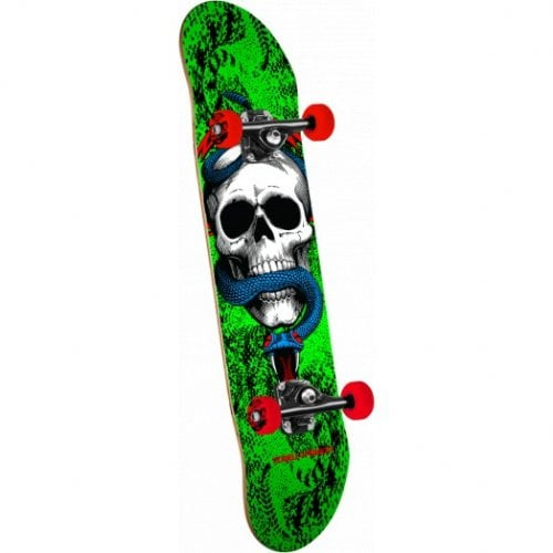 Skate Completo Powell Peralta: Skull and Snake One Off '15' Green 7.75