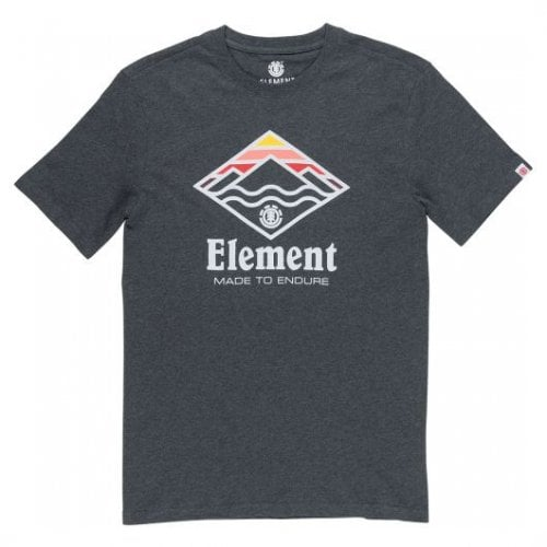 Camiseta Element: Layer SS Charcoal Heather GR
