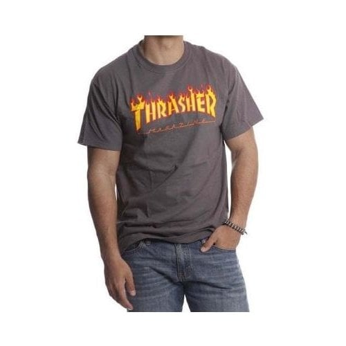 Camiseta Thrasher: Flame Logo GR