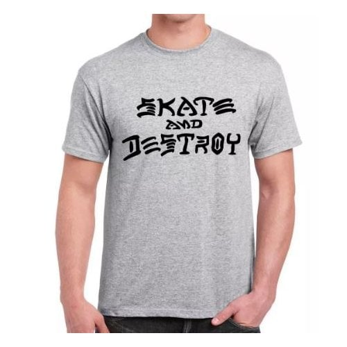 Camiseta Thrasher: Skate and Destroy GR