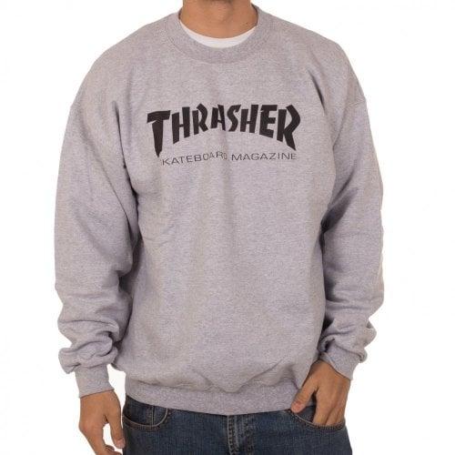 Sudadera Thrasher: Skate Mag Crew GR