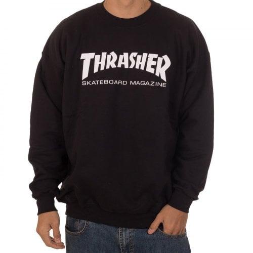 Sudadera Thrasher: Skate Mag Crew BK