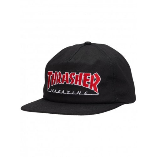 Gorra Thrasher: Outlined Snapback BK