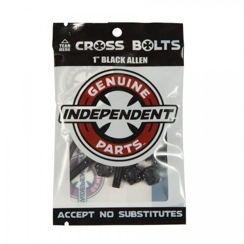 "Tornillos Independent: Genuine Parts Allen 1"" Black"